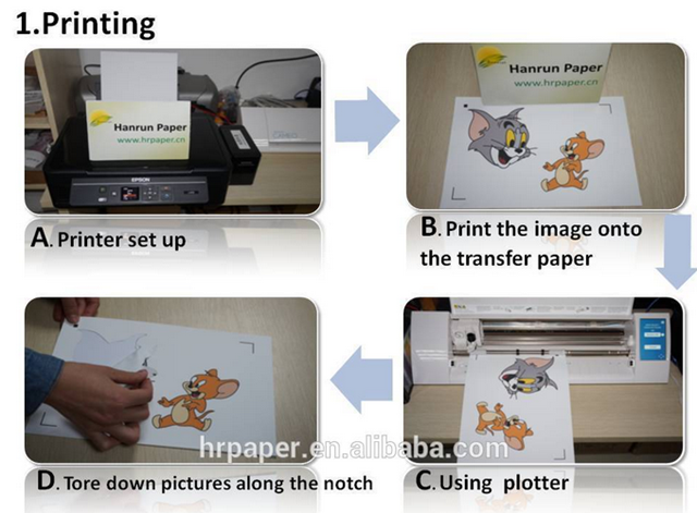 t shirt transfer paper Order from uk / international store - order from usa store - here is a step by step tutorial of how to use t.
